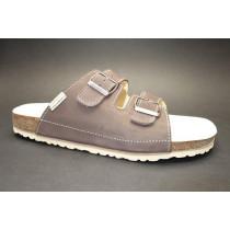 Letní vycházkové pantofle, Natur Comfort, tmavě hnědá
