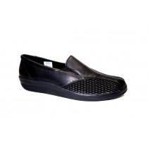Vycházková obuv, Comfortabel, černá