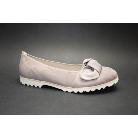 Vycházková obuv-baleríny, Gabor, tmavě tělová