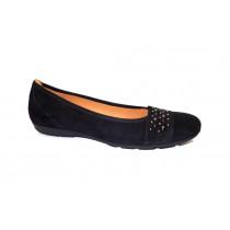 Vycházková obuv-baleríny, Gabor, černá
