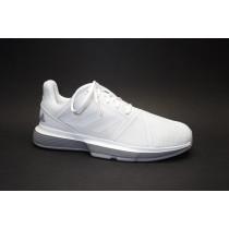 Tenisová obuv, Adidas, CourtJam Bounce W, bílo-šedá
