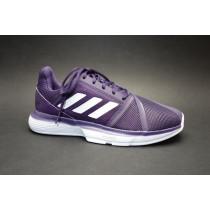 Tenisová obuv, Adidas, CourtJam Bounce W, fialovo-bílá