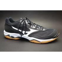 Halová obuv, Mizuno, Wave Phantom 2, černo-bílá