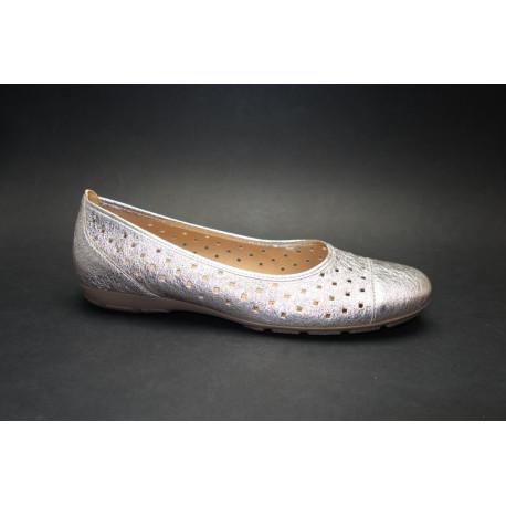 Letní vycházková obuv-baleríny, Gabor, muschel