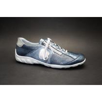 Vycházková obuv, Remonte, modro-stříbrná