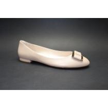 Vycházková obuv-baleríny, Högl, nude