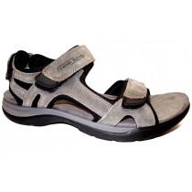 Letní vycházková obuv, Camel Active, Explorer, tmavě šedo-černá