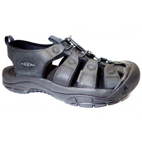 Letní turistická obuv pro středně náročný terén, Keen, Newport, černá
