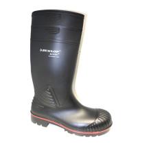 Pracovní obuv-holinky, Dunlop, Acifort HD Full Safety, černá