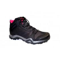 Turistická obuv pro středně náročný terén, Adidas, Terrex AX3 Mid GTX W, černo-růžová