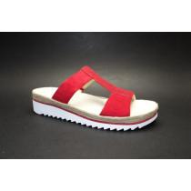 Letní vycházkové pantofle, Gabor, rubin
