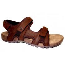 Letní vycházková obuv, Merrell, Sandspur Lee Backstrap, hnědá