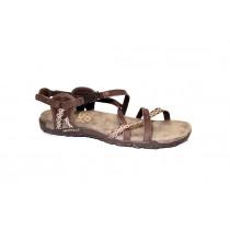 Letní vycházková obuv, Merrell, Terran Lattice II, hnědá