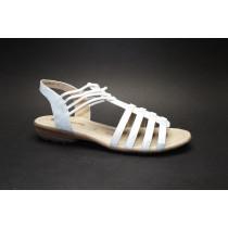 Letní vycházková obuv, Remonte, stříbrná
