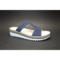 Letní vycházkové pantofle, Gabor, modrá