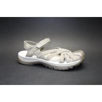 Letní turistická obuv pro lehký terén, Keen, Rose Sandal, šedo-hnědá