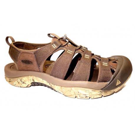 Letní turistická obuv pro středně náročný terén, Keen, Newport H2, hnědá