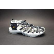 Letní turistická obuv pro lehký terén, Keen, Whisper, černo-šedá