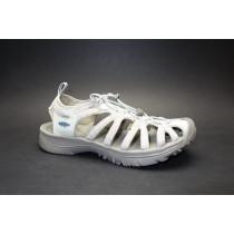 Letní turistická obuv pro lehký terén, Keen, Whisper, světle šedá