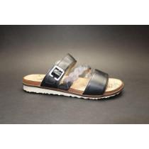 Letní vycházková obuv-pantofle, Remonte, černá