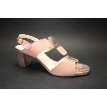 Letní vycházková obuv, Brenda Zaro, lososová/měďená