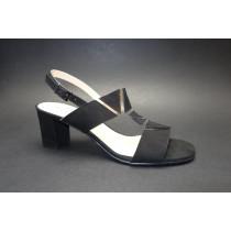 Letní vycházková obuv, Brenda Zaro, černá