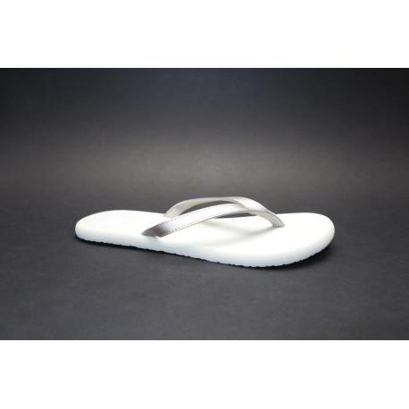 Plážová obuv žabky, Adidas, Eezay Flip Flop, platinová