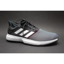 Tenisová obuv, Adidas, GameCourt M, černo-bílo-červená