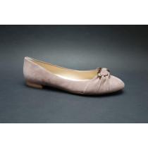Vycházková obuv-baleríny, Högl, tmavě růžová
