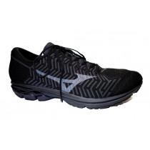 Běžecká obuv, Mizuno, Waveknit R2, černo-šedá
