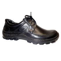 Vycházková obuv-flexiblová, De-Plus, černá