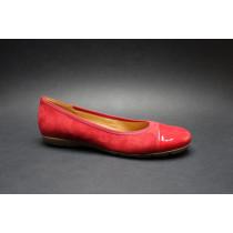 Vycházková obuv-baleríny, Gabor, cherry