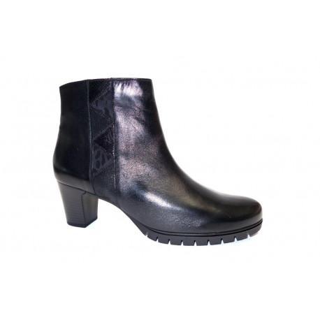 Vycházková obuv-kotníková, Gabor, šíře G, černá