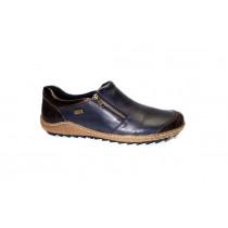 Vycházková obuv, Remonte, tmavě modrá/tmavě hnědá/bronzová