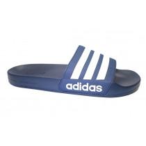 Plážová obuv, Adidas, Adilette Shower, modro-bílá