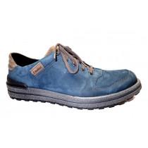 Vycházková obuv, Josef Seibel, Emil 17, modro-hnědá