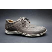 Vycházková obuv-flexiblová, Josef Seibel, Anvers 08, šíře K, tmavě šedá