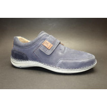 Vycházková obuv-flexiblová, Josef Seibel, Anvers 83, šíře K, tmavě modrá