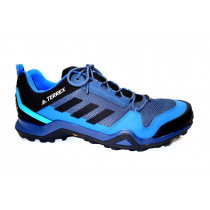 Turistická obuv pro středně náročný terén, Adidas, Terrex AX3 GTX, šedo-modro-černá