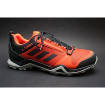 Turistická obuv pro středně náročný terén, Adidas, Terrex AX3 GTX, červeno-černá