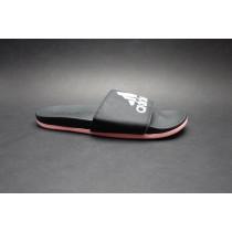Letní obuv pro volný čas-pantofle, Adidas, Adilette Comfort, černo-růžová