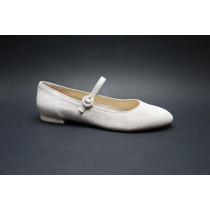 Vycházková obuv-baleríny, Högl, růžová