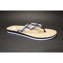 Plážová obuv, Adidas, Mahila Thong W, černo-bílá