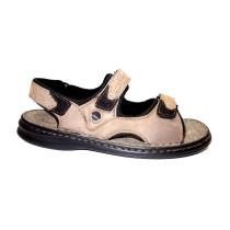 Letní vycházková obuv-flexiblová, Josef Seibel, Franklin, šedo-černá