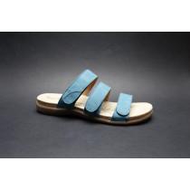 Letní vycházková obuv-pantofle, Josef Seibel, Riley 03, modrá