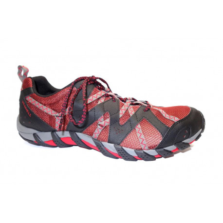 Letní obuv pro volný čas+obuv do vody, Merrell, Waterpro Maipo 2, červeno-černá