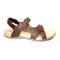 Letní vycházková obuv, Merrell, Sandspur Rift Strap, tmavě hnědá