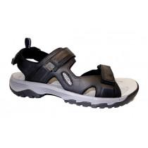 Letní turistická obuv pro lehký terén, Keen, Targhee III Open Toe Sandal, černá