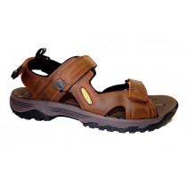 Letní turistická obuv pro lehký terén, Keen, Targhee III Open Toe Sandal, hnědá