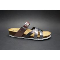 Letní vycházkové pantofle, Ara, Bali-Hs, metalic mix